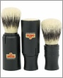 OMEGA 50014 Pure Bristle Travel Shaving Brush